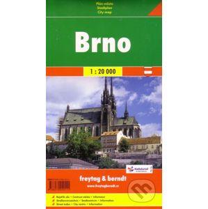 Brno 1:20 000 - freytag&berndt