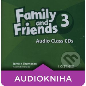 Family and Friends 3 - Class Audio CDs - Oxford University Press