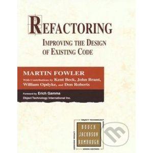 Refactoring - Martin Fowler