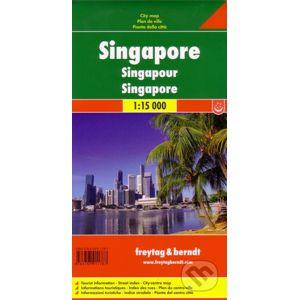 Singapur 1:15 000 - freytag&berndt