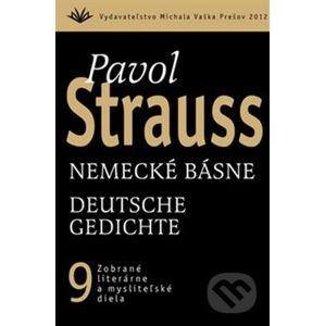 Nemecké básne / Deutsche Gedichte (9) - Pavol Strauss