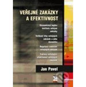 Veřejné zakázky a efektivnost - Jan Pavel