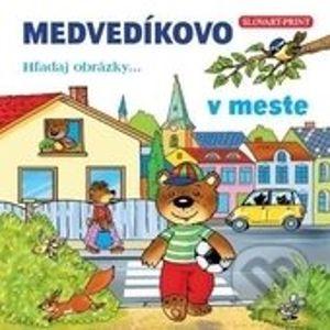 Medvedíkovo - v meste - Slovart Print