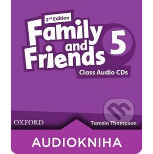 Family and Friends 5 - Class Audio CDs - Tamzin Thompson