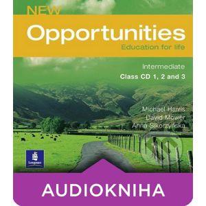 New Opportunities - Intermediate - Class CD 1, 2 and 3 - Michael Harris, David Mower, Anna Sikorzyńska