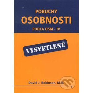 Poruchy osobnosti podľa DSM - IV - David J. Robinson