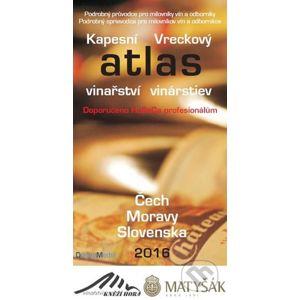 Kapesní atlas vinařství/vinárstiev Čech Moravy Slovenska 2016 - Newsletter