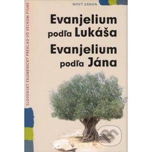 Evanjelium podľa Lukáša, Evanjelium podľa Jána - Slovenská biblická spoločnosť