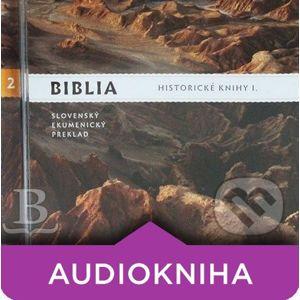 Historické knihy I. - Slovenská biblická spoločnosť
