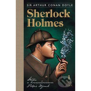 Sherlock Holmes 1: Štúdia v krvavočervenom, Podpis štyroch - Arthur Conan Doyle