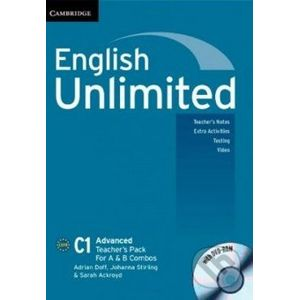 English Unlimited - Advanced - A and B Teacher's Pack - Adrian Doff, Johanna Stirling, Sarah Ackroyd