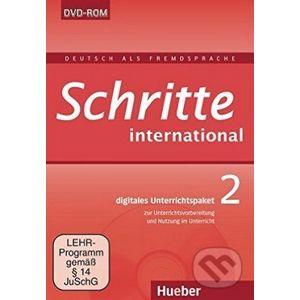 Schritte International 2 - Digitales Unterrichtspaket DVD-ROM - Max Hueber Verlag