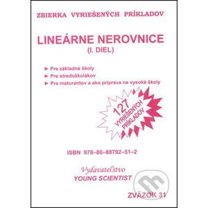 Lineárne nerovnice I. diel - Marián Olejár, Iveta Olejárová