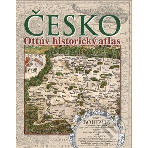 Česko - Ottův historický atlas - Ottovo nakladatelství