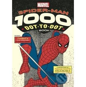 Spider-Man 1000 Dot-to-Dot Book - Twenty Comic Characters to Complete Yourself