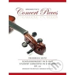 Concerto D major op. 22 - Friedrich Seitz