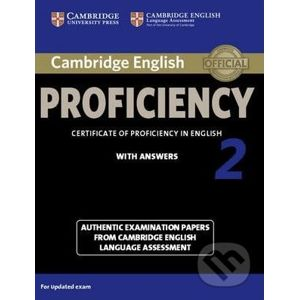 Cambridge English Proficiency 2 - Student's Book with Answers - Cambridge University Press