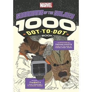 The 1000 Dot-to-Dot Book: Guardians of the Galaxy - Thomas Pavitte