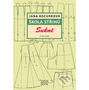 Škola střihů - Sukně - Jana Kocurková