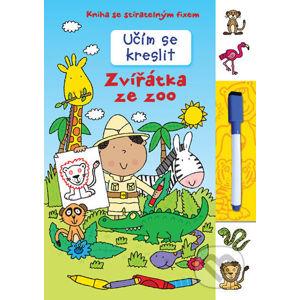 Učím se kreslit - Zvířátka ze zoo - Svojtka&Co.