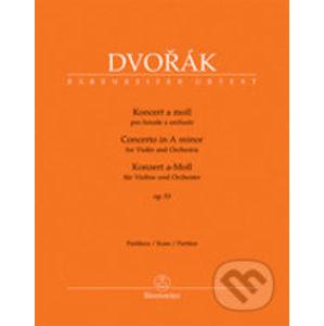 Koncert a moll op. 53 pro housle a orchestr - Antonín Dvořák
