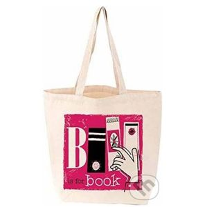 B Is for Book (Tote Bag) - Vintage