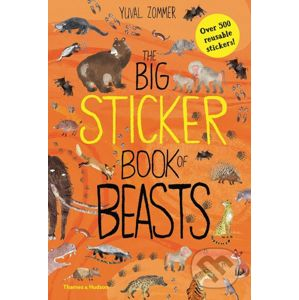 The Big Sticker Book of Beasts - Yuval Zommer