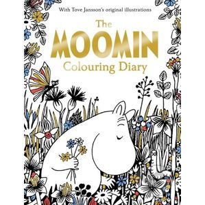 The Moomin Colouring Diary - Tove Jansson