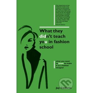 What They Didnt Teach You in Fashion School - Jay Calderin