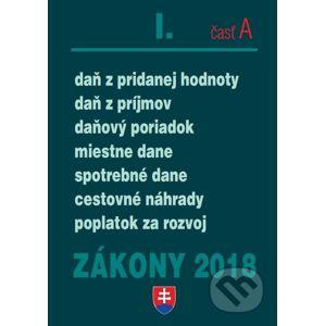Zákony 2018 I/A - Poradca s.r.o.