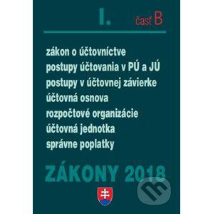 Zákony 2018 I/B - Poradca s.r.o.