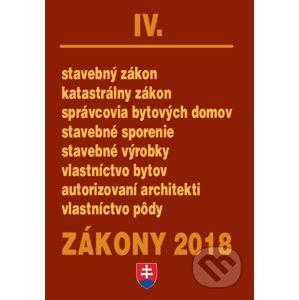 Zákony 2018/IV - Poradca s.r.o.