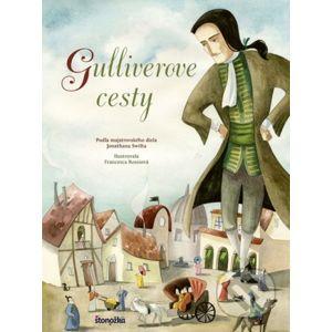 Gulliverove cesty - Jonathan Swift, Francesca Rossi (ilustrácie)