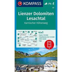Lienzer Dolomiten, Lesachtal - Kompass