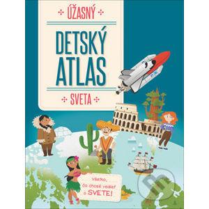 Úžasný detský atlas sveta - YoYo Books