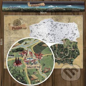 Stieracia mapa Poľska - Giftio