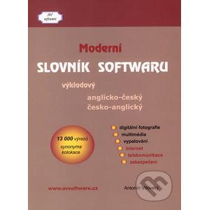 Anglicko-český a česko-anglický moderní slovník softwaru - Antonín Vitovský