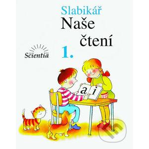 Slabikář - Naše čtení 1 - František Kábele, Vladimír Linc