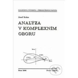 Analýza v komplexním oboru - Josef Kalas