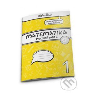 Matematika 1 - pracovný zošit 3 - Zuzana Berová, Peter Bero, Ivana Honzová