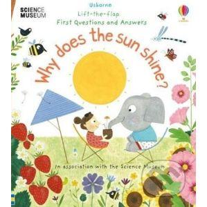 Why Does the Sun Shine? - Katie Daynes, Christine Pym (ilustrácie)