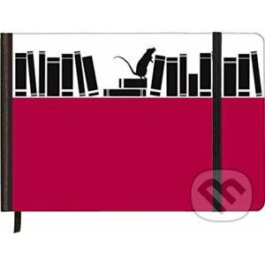 Notebook Horizontal Antique Books - Te Neues