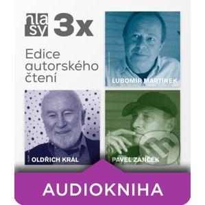 3x HLASY: Martínek, Král, Zajíček - Lubomír Martínek,Oldřich Král,Pavel Zajíček,Mistr Zhuang
