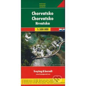 Chorvatsko 1:500 000 - freytag&berndt