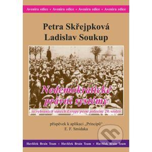 Nedemokratické právní systémy ve vybraných státech Evropy první poloviny 20. století - Petra Skřejpková