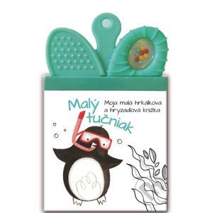 Moja malá hrkálková a hryzadlová knižka: Malý Tučniak - YoYo Books