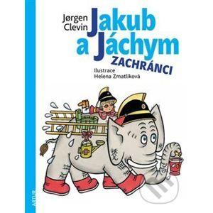 Jakub a Jáchym: zachránci - Jorgen Clevin, Helena Zmatlíková (ilustrácie)