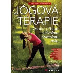 Jógová terapie - Steffan Elgelid, Kristen Butera