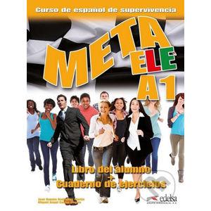 Meta ELE (A1)Libro del alumno + cuaderno de ejercicios + audio download - Kolektiv autorů