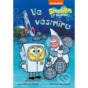 SpongeBob ve vesmíru - Steven Banks, Clint Bond (ilustrácie)